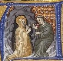 St. Mary Magdelene and  priest